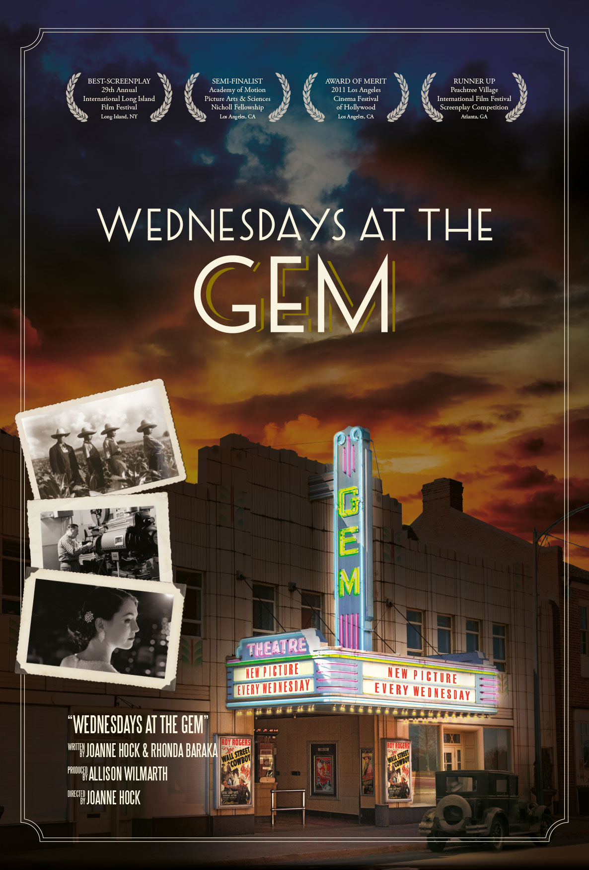 Joanne Hock, Wednesdays at the Gem, Gem Theatre